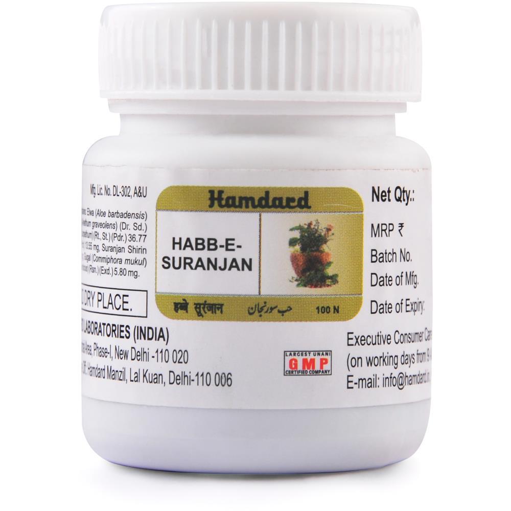 Hamdard Habbe Suranjan (100Pills)