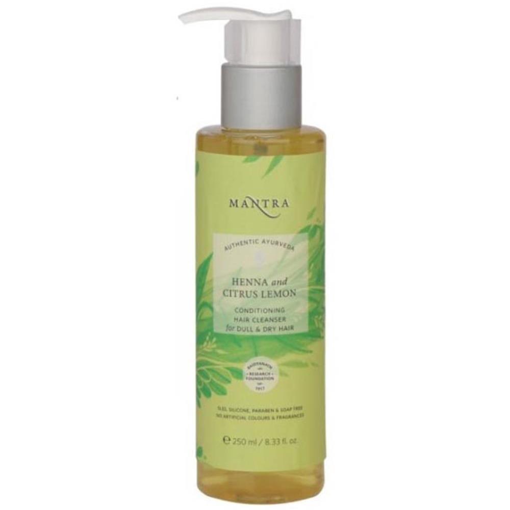 Mantra Herbal Henna & Citrus Lemon Conditioning Hair Cleanser (250ml)
