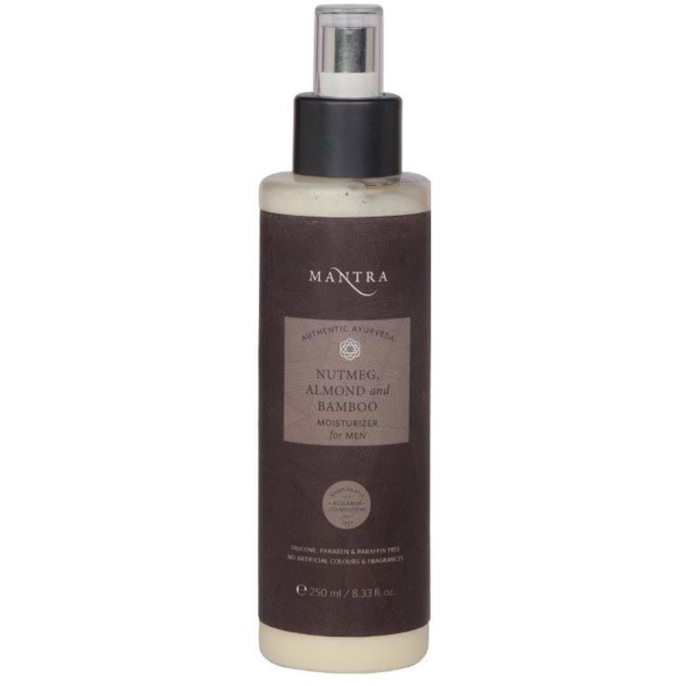 Mantra Herbal Nutmeg, Almond And Bamboo Moisturizer For Men (250ml)