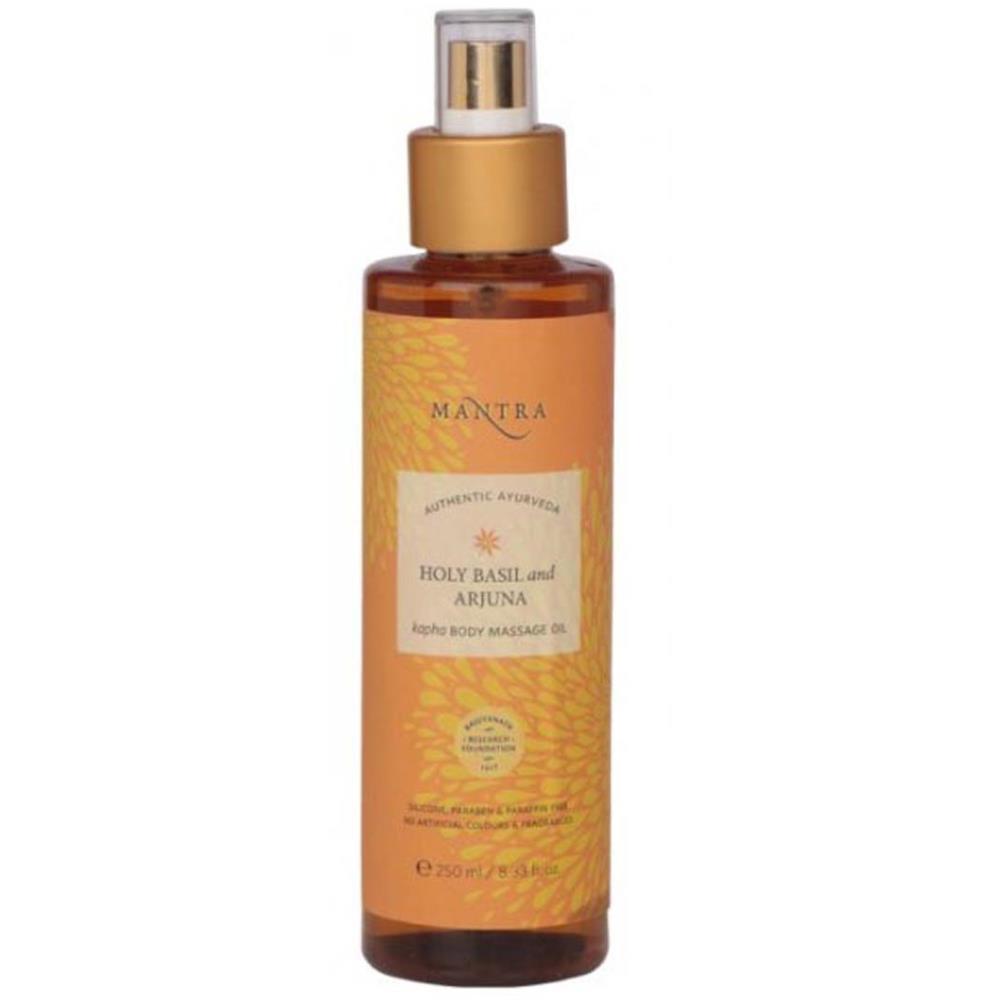 Mantra Herbal Holy Basil And Arjuna Kapha Body Massage Oil (250ml)