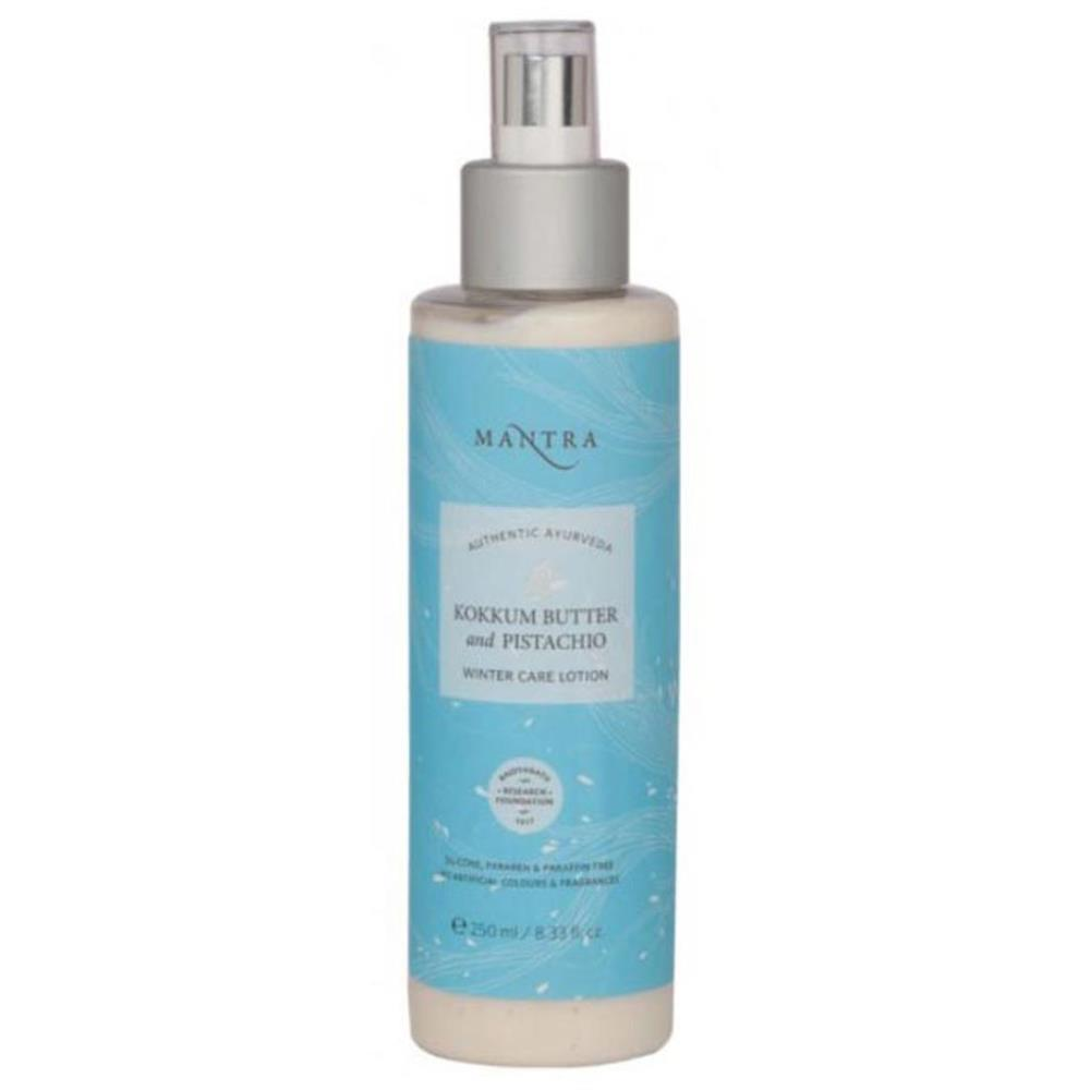 Mantra Herbal Kokkum Butter And Pistachio Winter Care Lotion (250ml)