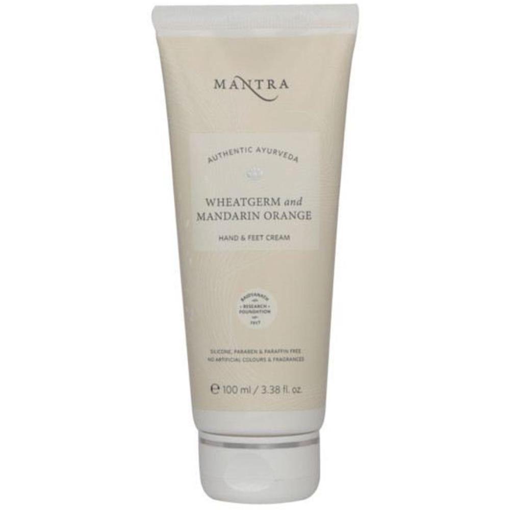 Mantra Herbal Wheat Germ & Mandarin Orange Hand & Feet Cream (100ml)
