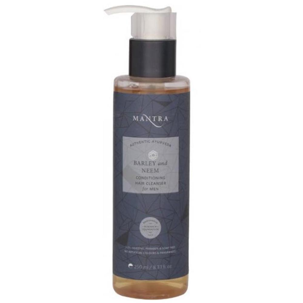 Mantra Herbal Barley And Neem Conditioning Hair Cleanser For Men (250ml)