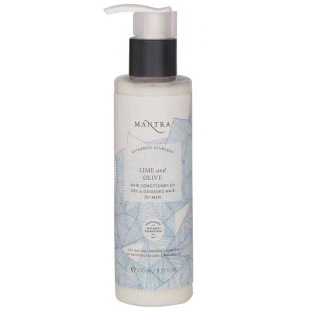 Mantra Herbal Lime And Olive Conditioner For Dry And Damage Hair For Men (250ml)
