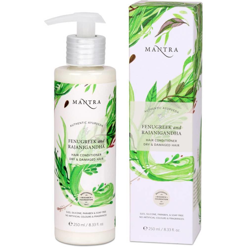 Mantra Herbal Fenugreek & Rajanigandha Conditioner Dry & Damaged Hair (250ml)