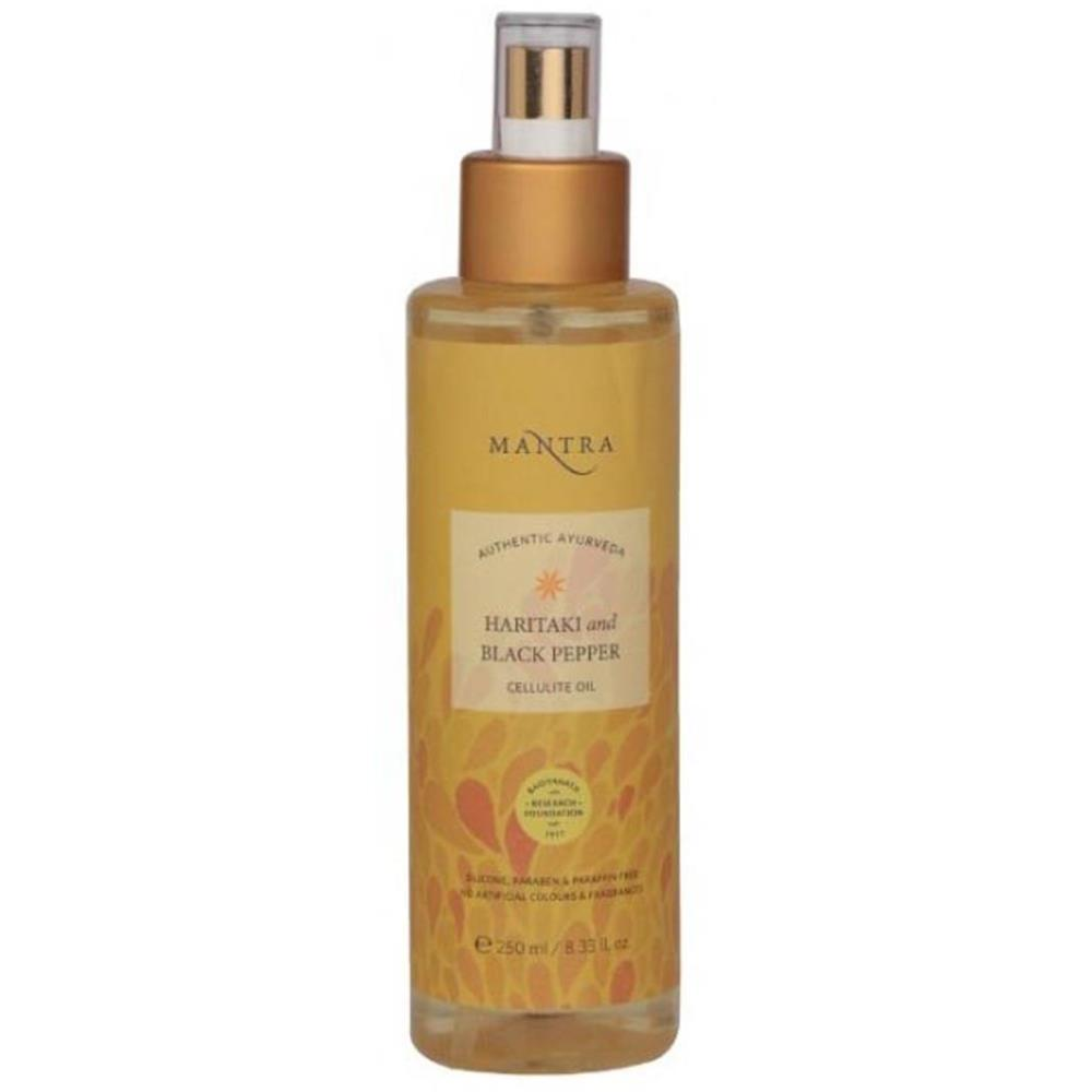 Mantra Herbal Haritaki And Black Pepper Cellulite Oil (250ml)