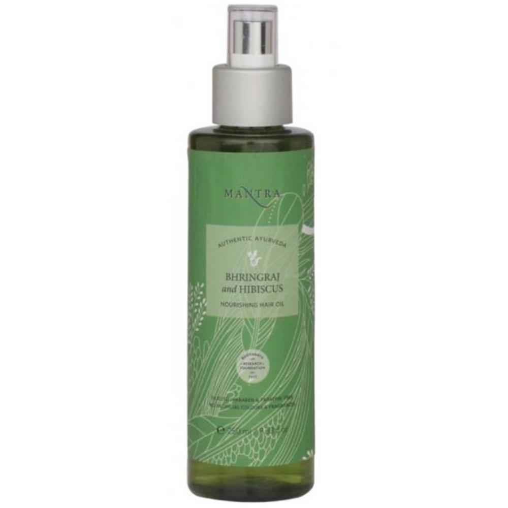 Mantra Herbal Bhringraj & Hibiscus Nourishing Hair Oil (250ml)
