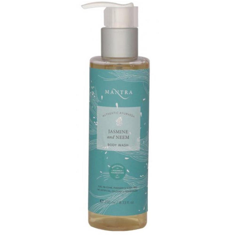 Mantra Herbal Jasmine And Neem Body Wash (250ml)