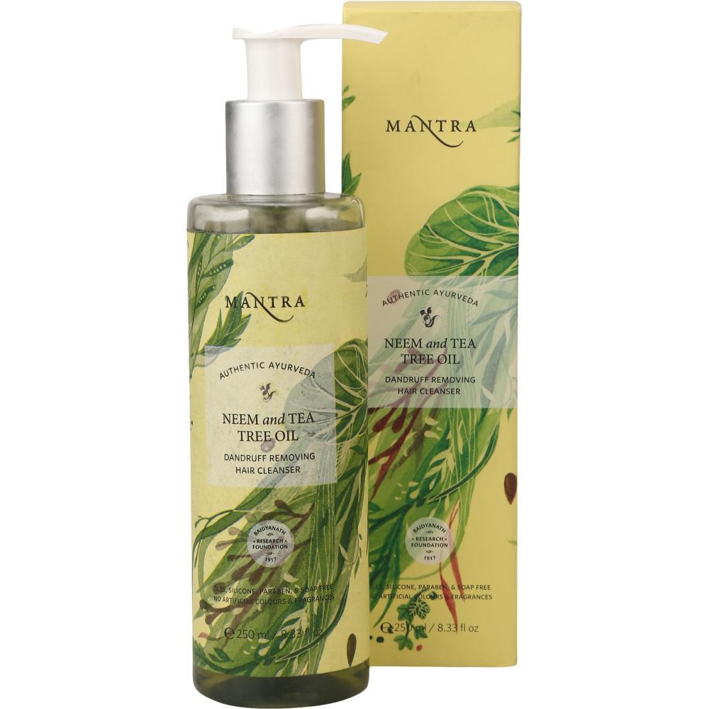 Mantra Herbal Neem & Tea Tree Oil Dandruff Removing Hair Cleanser (250ml)