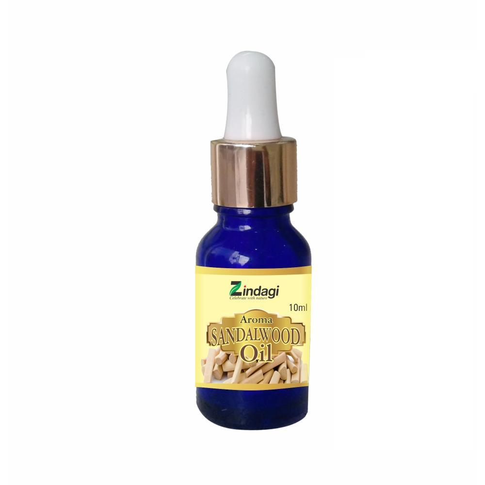 Zindagi Aroma Sandalwood Oil - Natural Aroma Oils (10ml)
