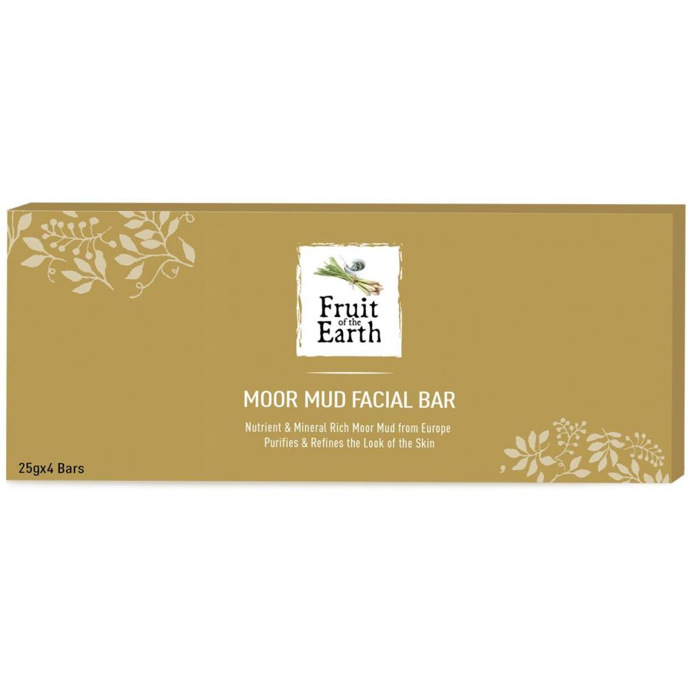 Modicare Fruit Of The Earth Moor Mud Facial Bar (24g, Pack of 4)