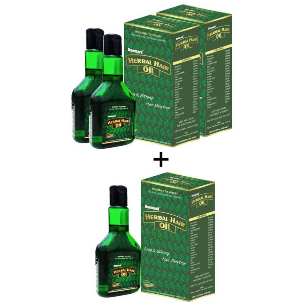 Deemark Herbal Hair Oil Combo (120ml, Pack of 3)