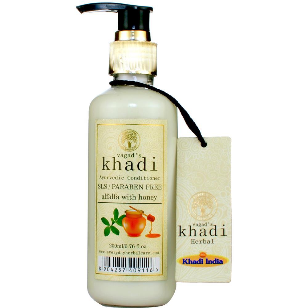 Vagads Khadi Alfa Alfa With Honey S.L.S And Paraben Free Conditioner (200ml)