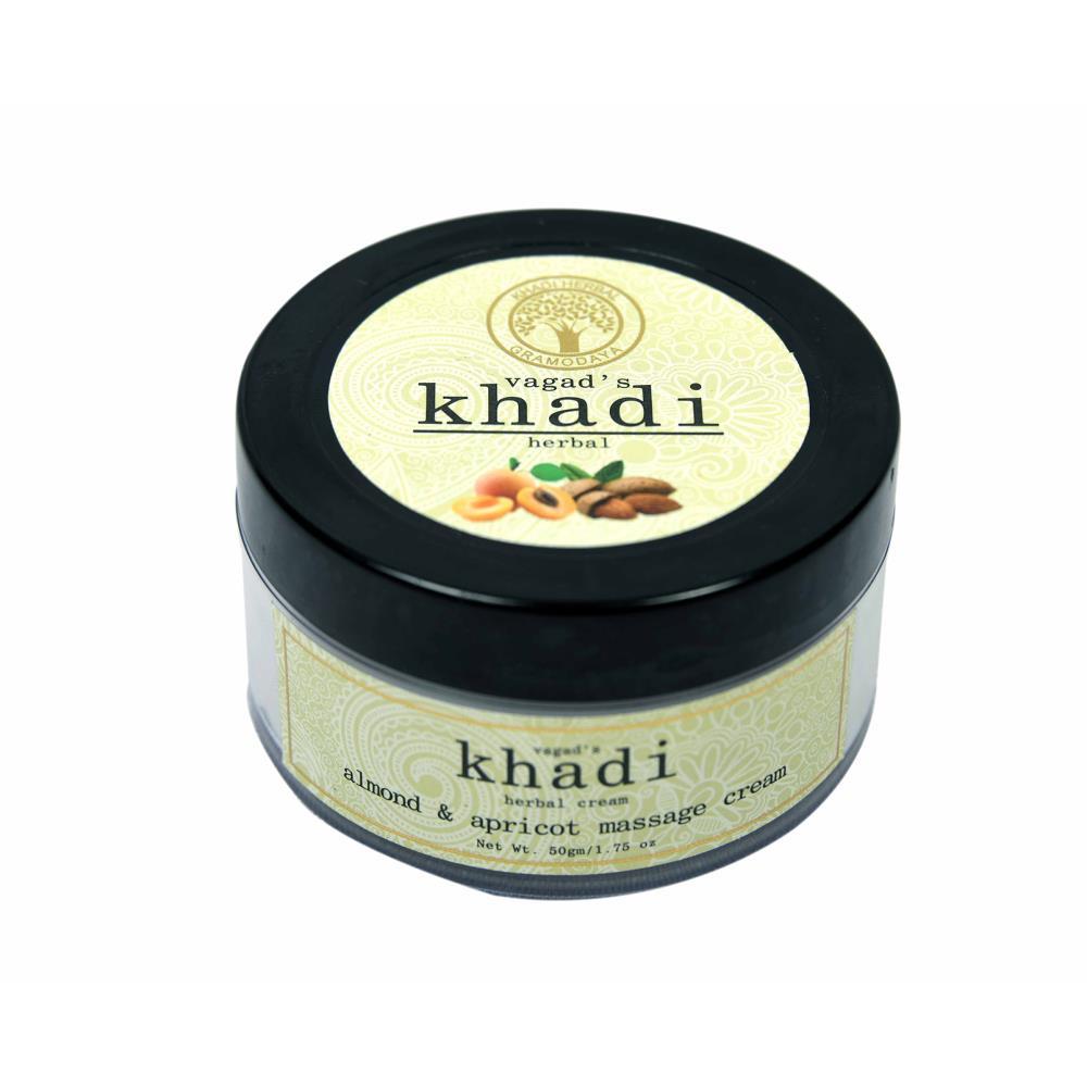 Vagads Khadi Almond With Apricot Massage Cream (50g)
