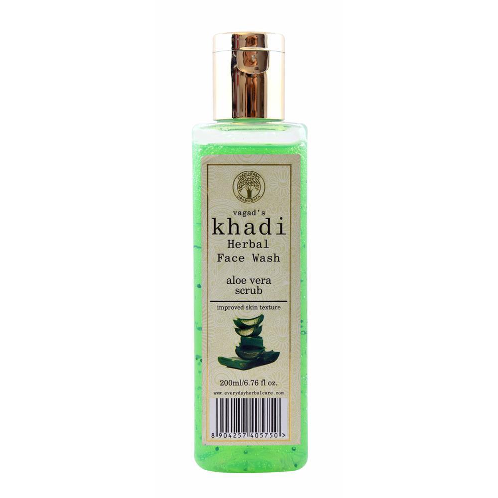 Vagads Khadi Aloevera Scrub Face Wash (200ml)
