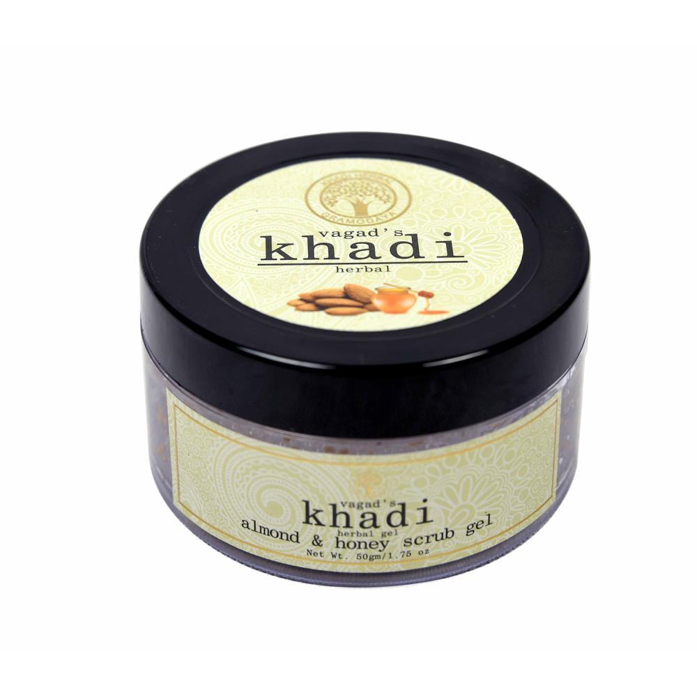Vagads Khadi Almond & Honey Scrub Gel (50g)