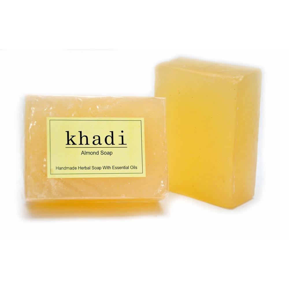 Vagads Khadi Almond Soap (125g)