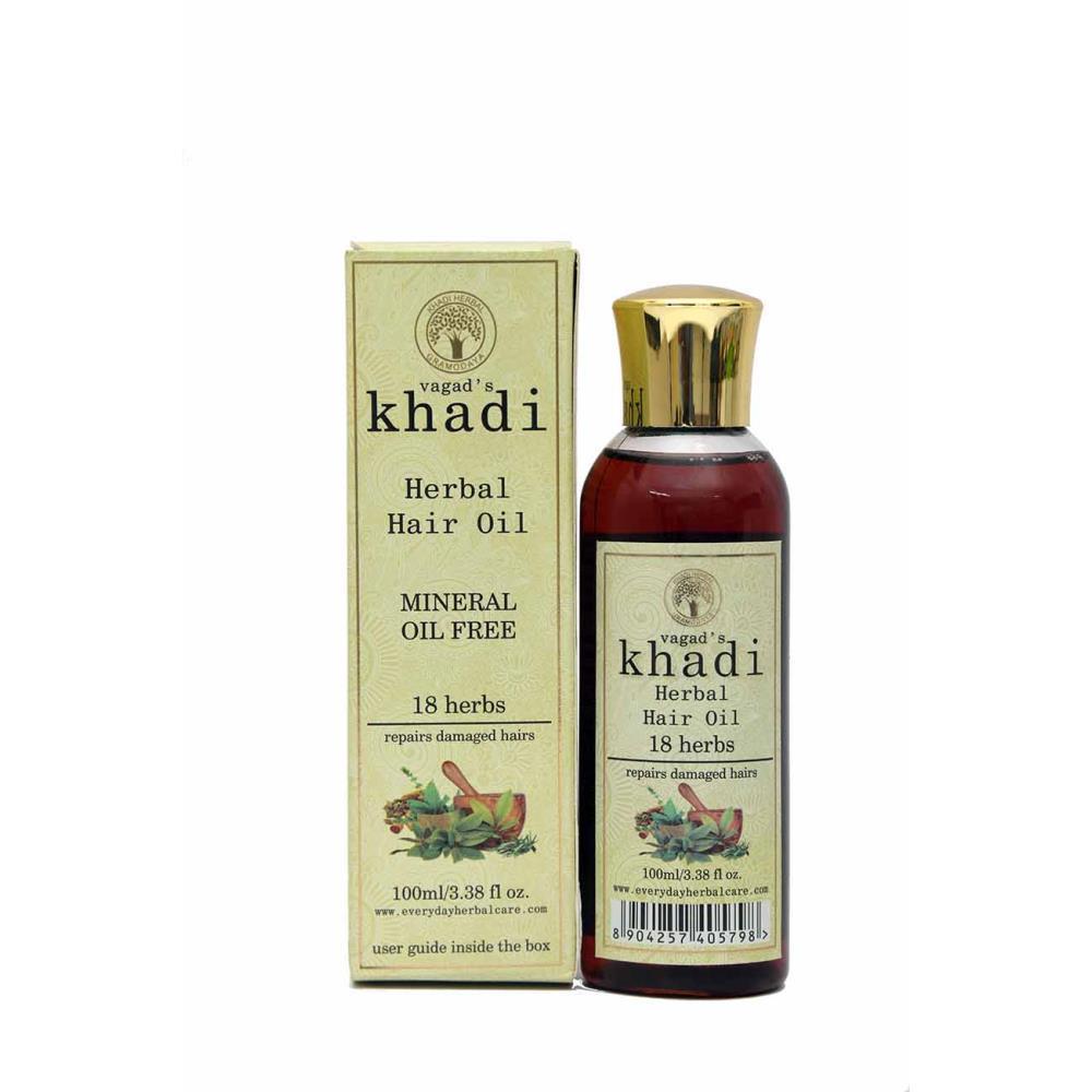 Vagads Khadi 18-Herbs Hair Oil (100ml)