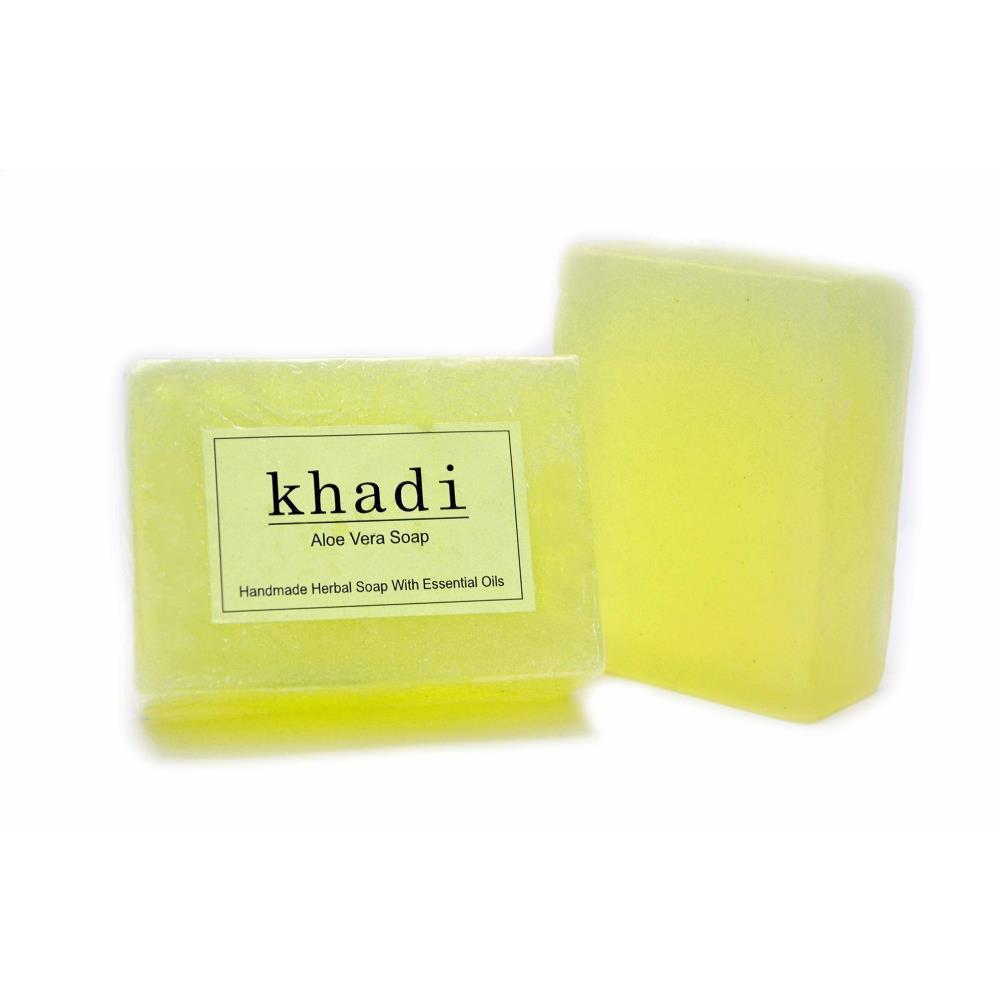 Vagads Khadi Aloevera Soap (100g)