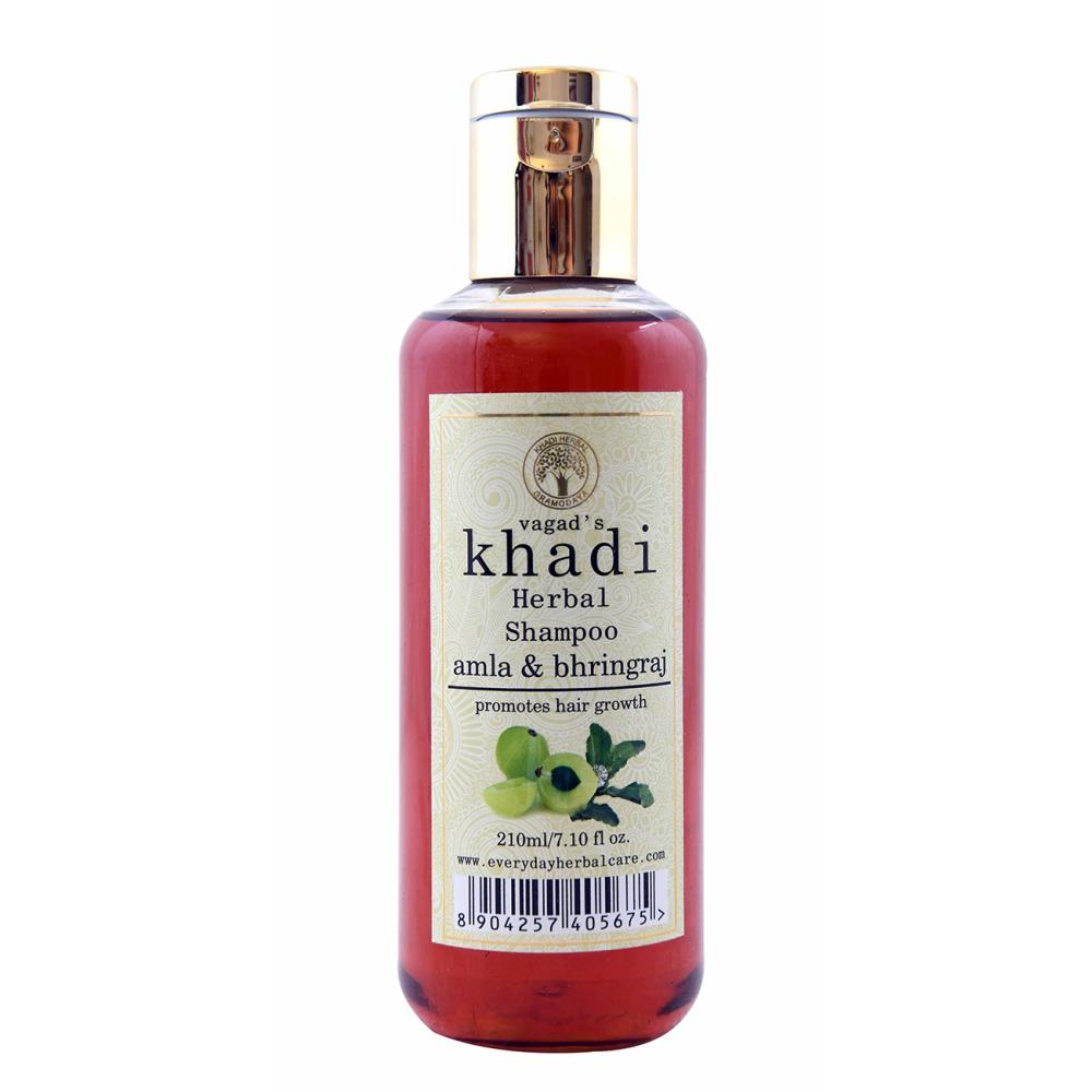 Vagads Khadi Amla & Bhringraj Shampoo (210ml)