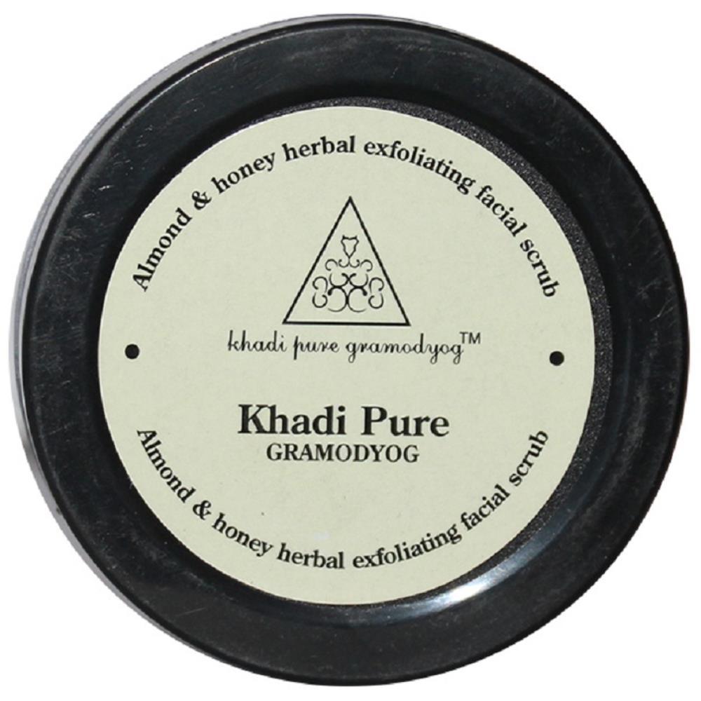 Khadi Pure Almond & Honey Exfoliating Facial Scrub (50g)
