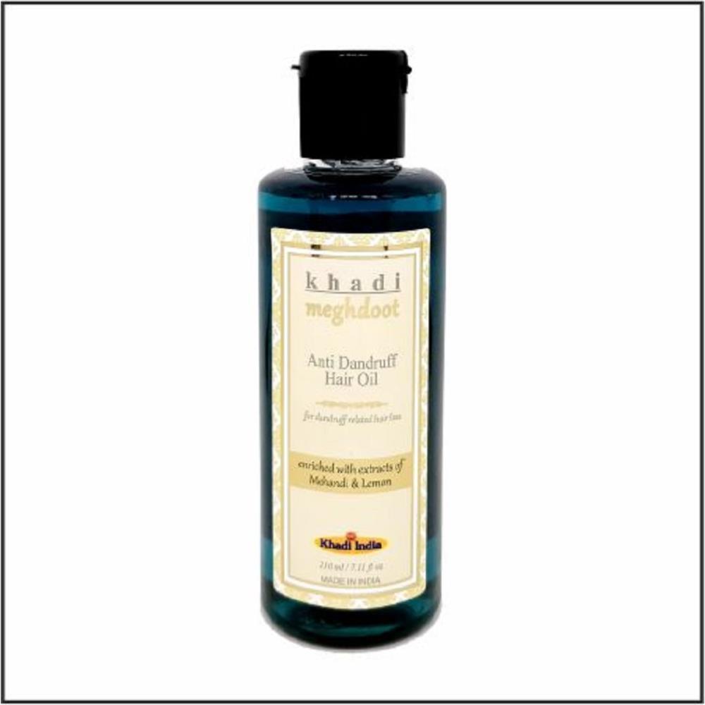 Khadi Meghdoot Anti Dandruff Hair Oil (210ml)
