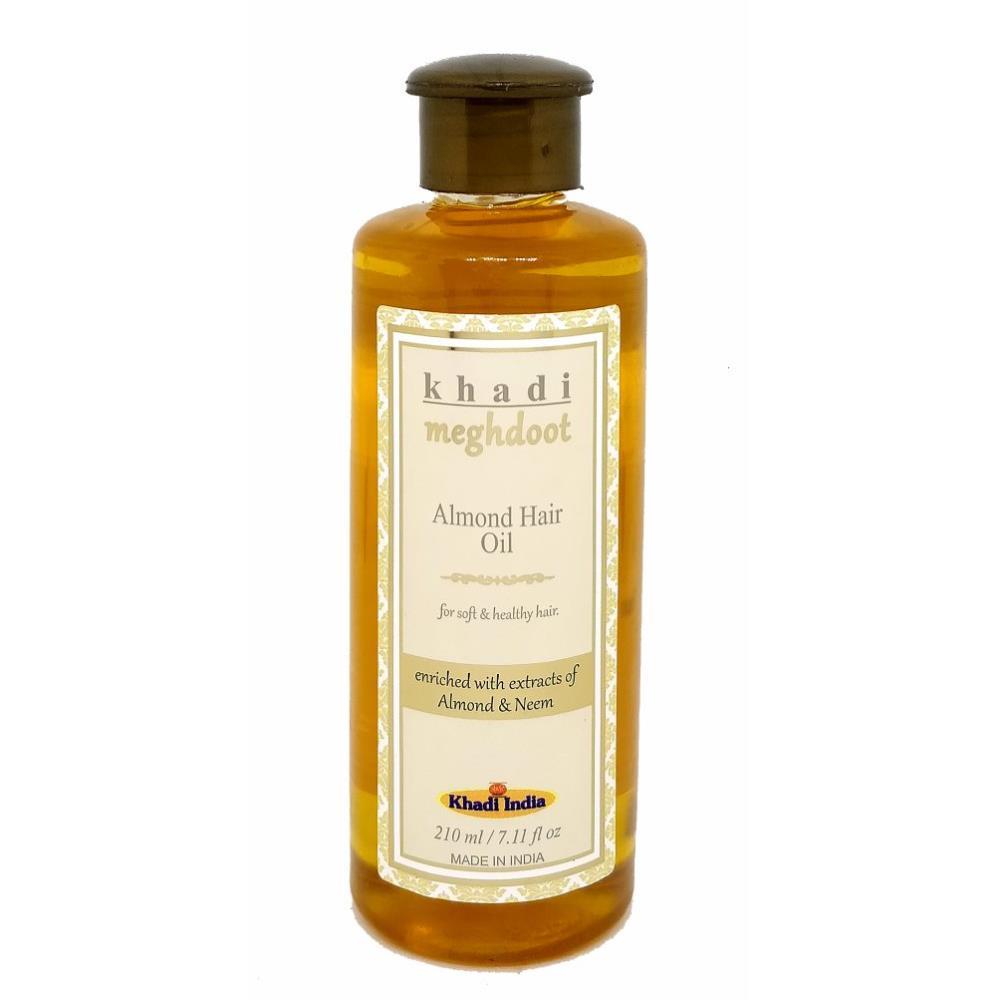 Khadi Meghdoot Almond Hair Oil (210ml)