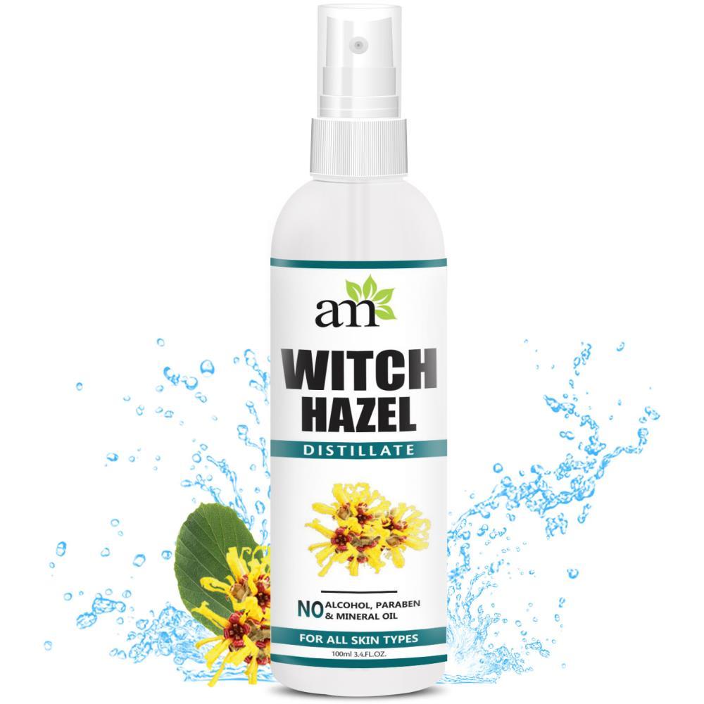 AromaMusk Premium Witch Hazel Distillate Toner (100ml)