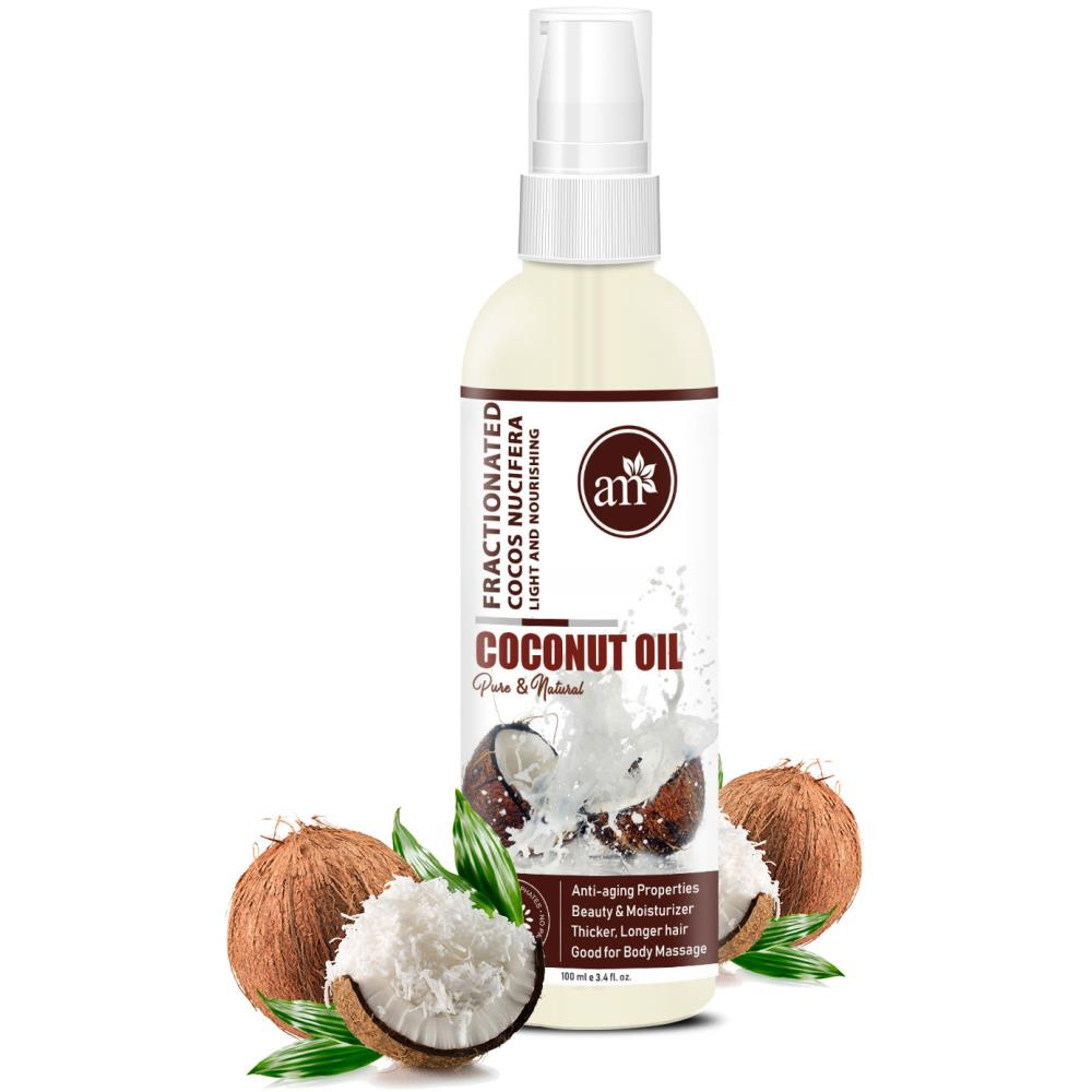 AromaMusk 100% Natural & Pure Fractionated Coconut Oil  (100ml)