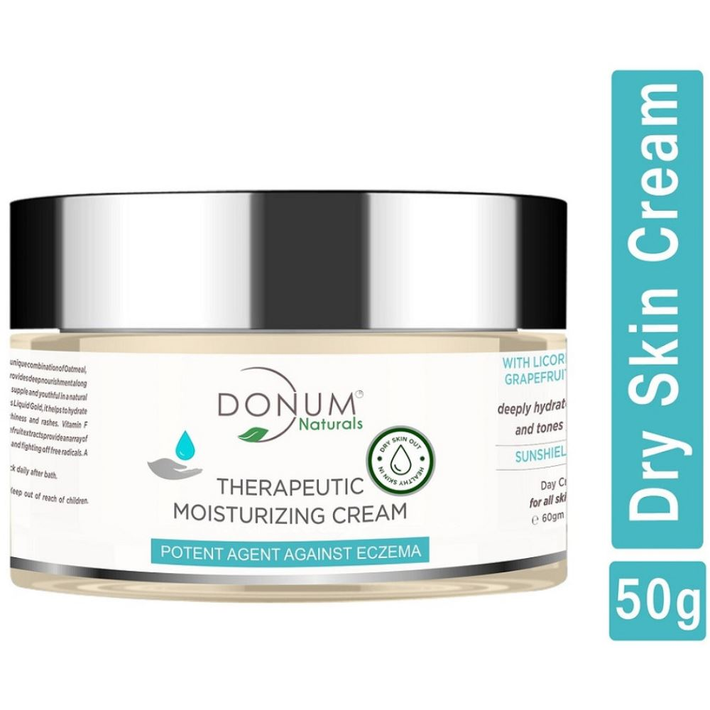 Donum Naturals Moisturizing Repairing Cream With Olive Oil Chamomile Vitamin E (50g)