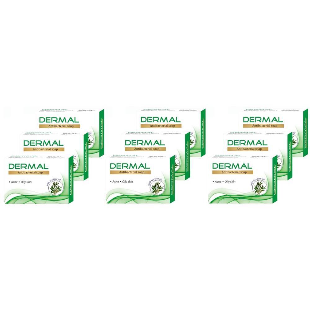 Biotrex Dermal Antibacterial Bath Soap (75g, Pack of 9)
