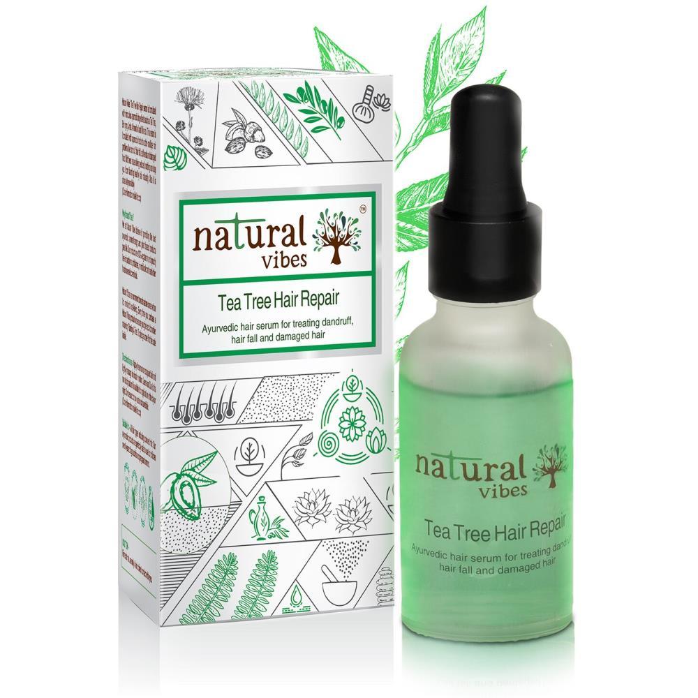 Natural Vibes Ayurvedic Tea Tree Hair Repair Serum (30ml)