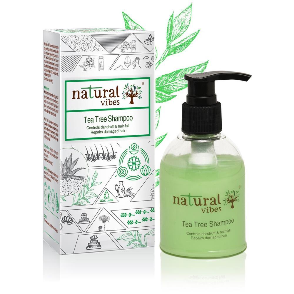Natural Vibes Ayurvedic Tea Tree Shampoo (150ml)