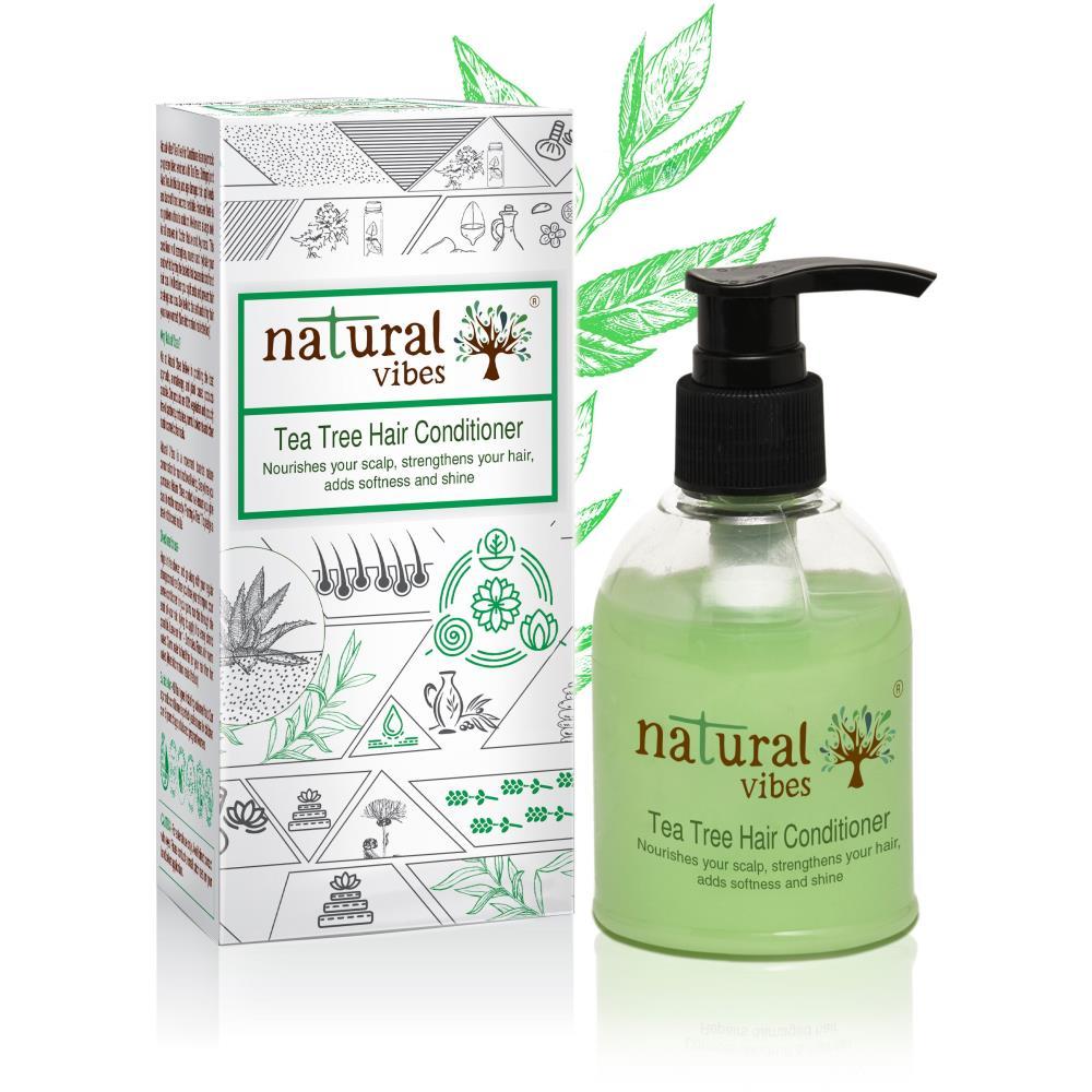 Natural Vibes Ayurvedic Tea Tree Hair Conditioner (150ml)