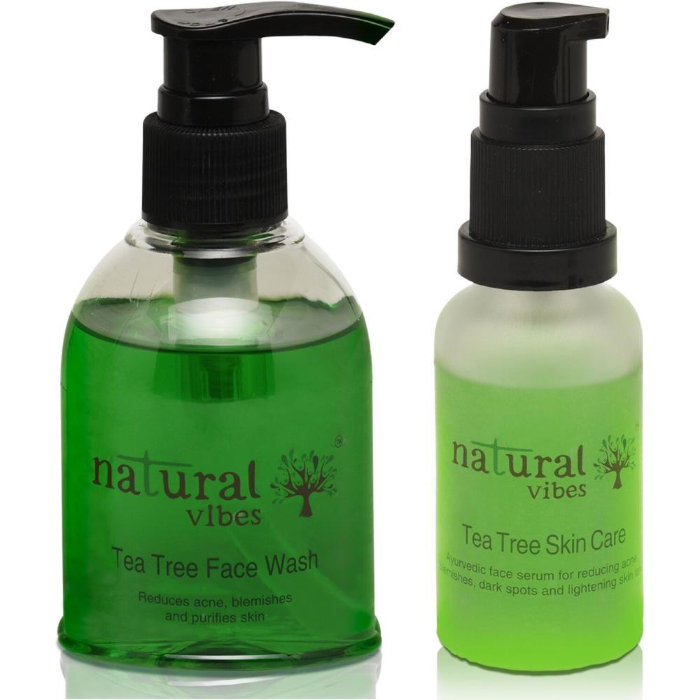 Natural Vibes Ayurvedic Anti Acne And Skin Whitening Treatment (1Pack)