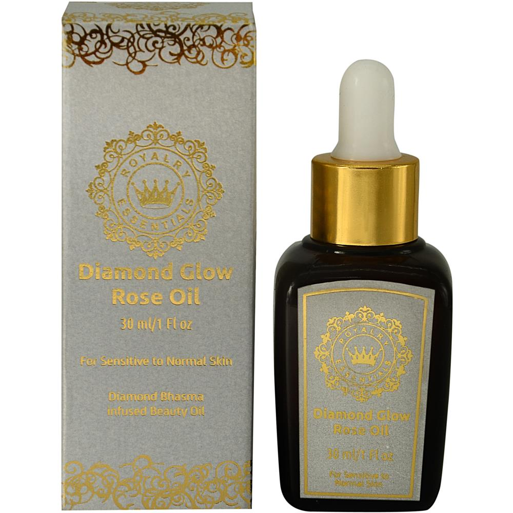 Royalry Essentials Diamond Glow Rose Gold Oil (30ml)