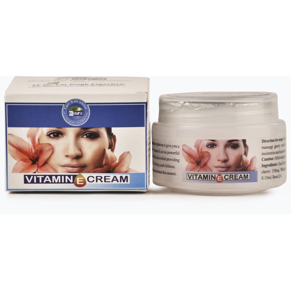 Dr. Lal Elaura Herbal Vitamin E Cream (50g)