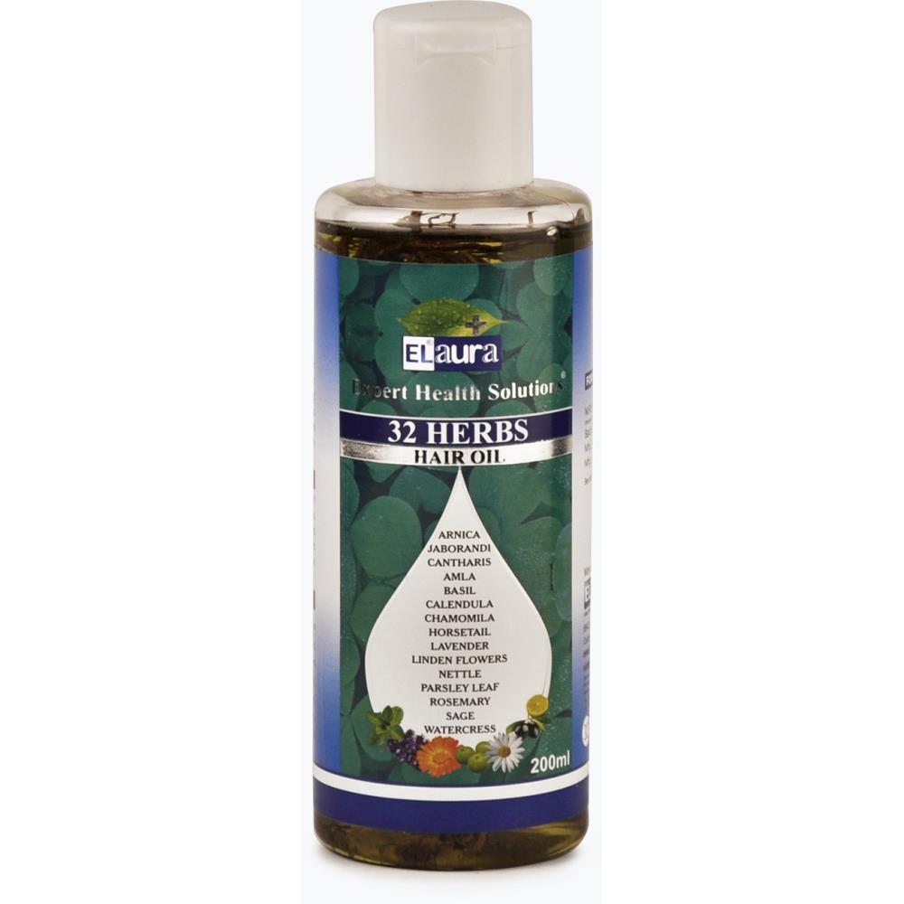 Dr. Lal Elaura 32 Herbs Hair Oil (200ml)
