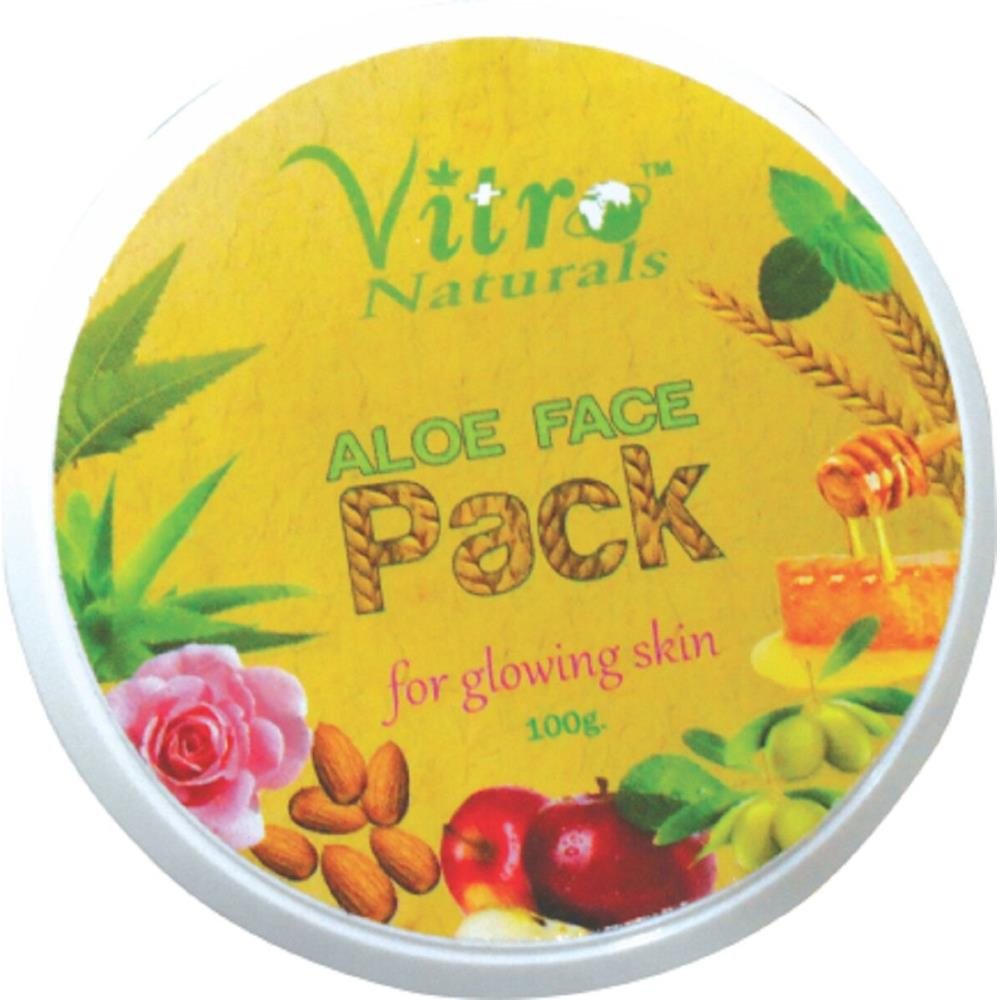 Vitro Aloe Face Pack (100g)