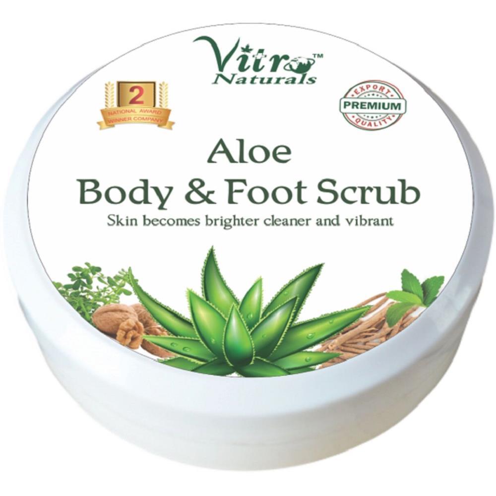 Vitro Aloe Body & Foot Scrub (100g)