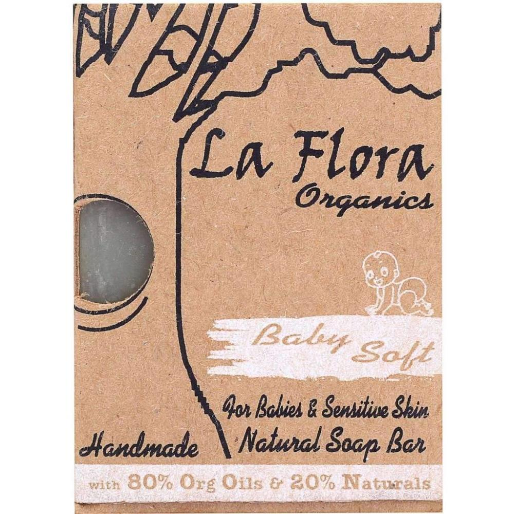La Flora Organics Baby's Soft Handmade Mild Soap (100g)