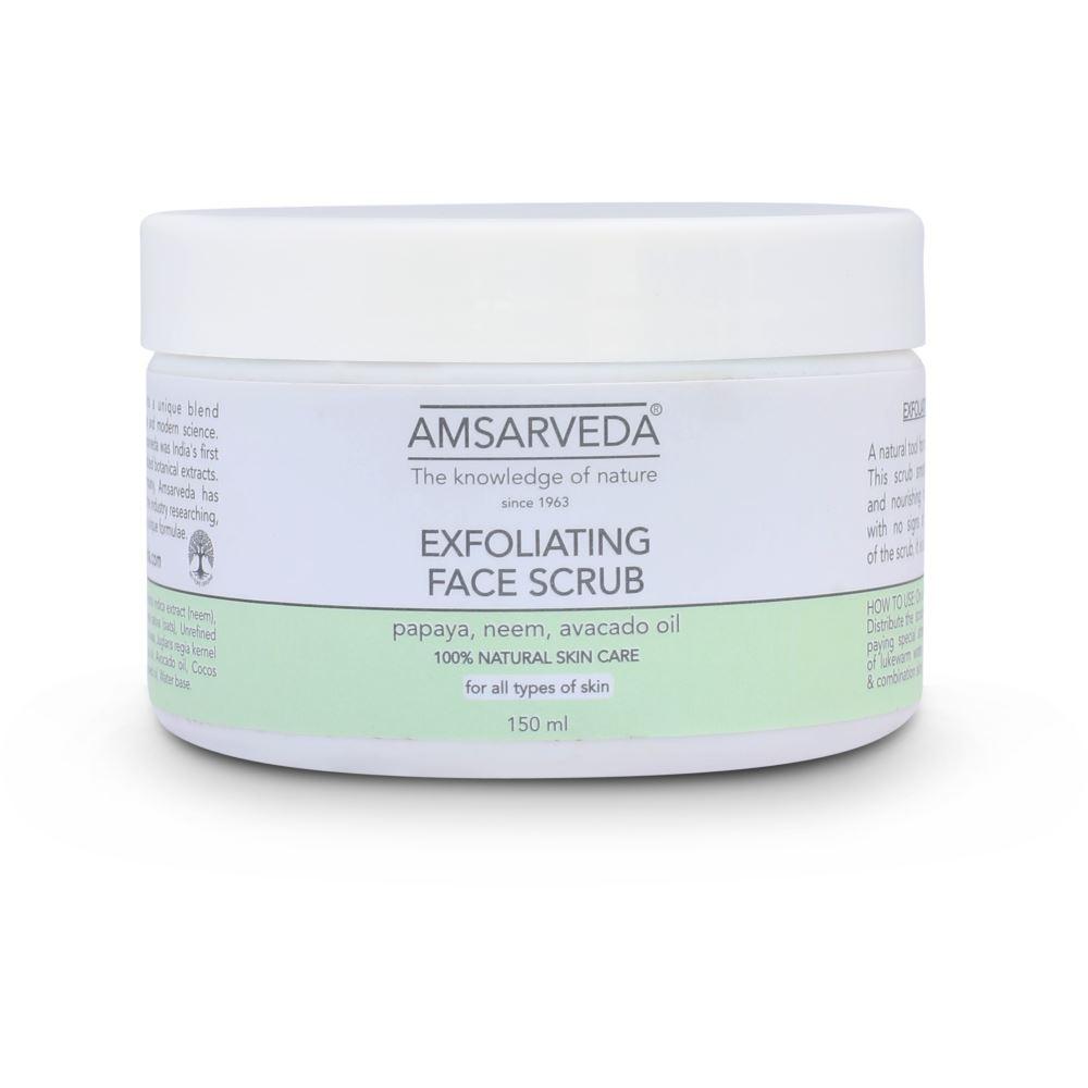 Amsarveda Exfoliating Face Scrub  (150g)