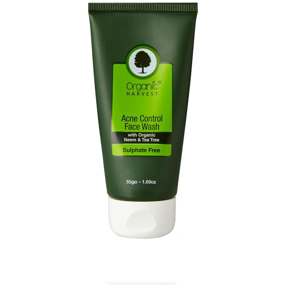 Organic Harvest Acne Control Face Wash (Sulphate Free) (50ml)