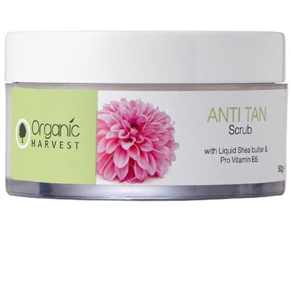 Organic Harvest Anti Tan Scrub (50g)