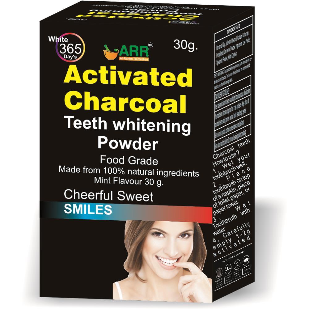 Al Rahim Activated Charcoal Teeth Whitening Powder (30ml)