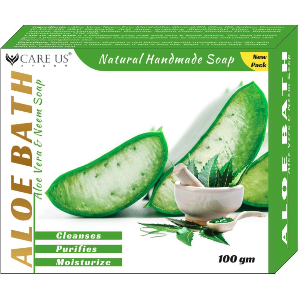 Care Us Aloe Bath Soap (100g)