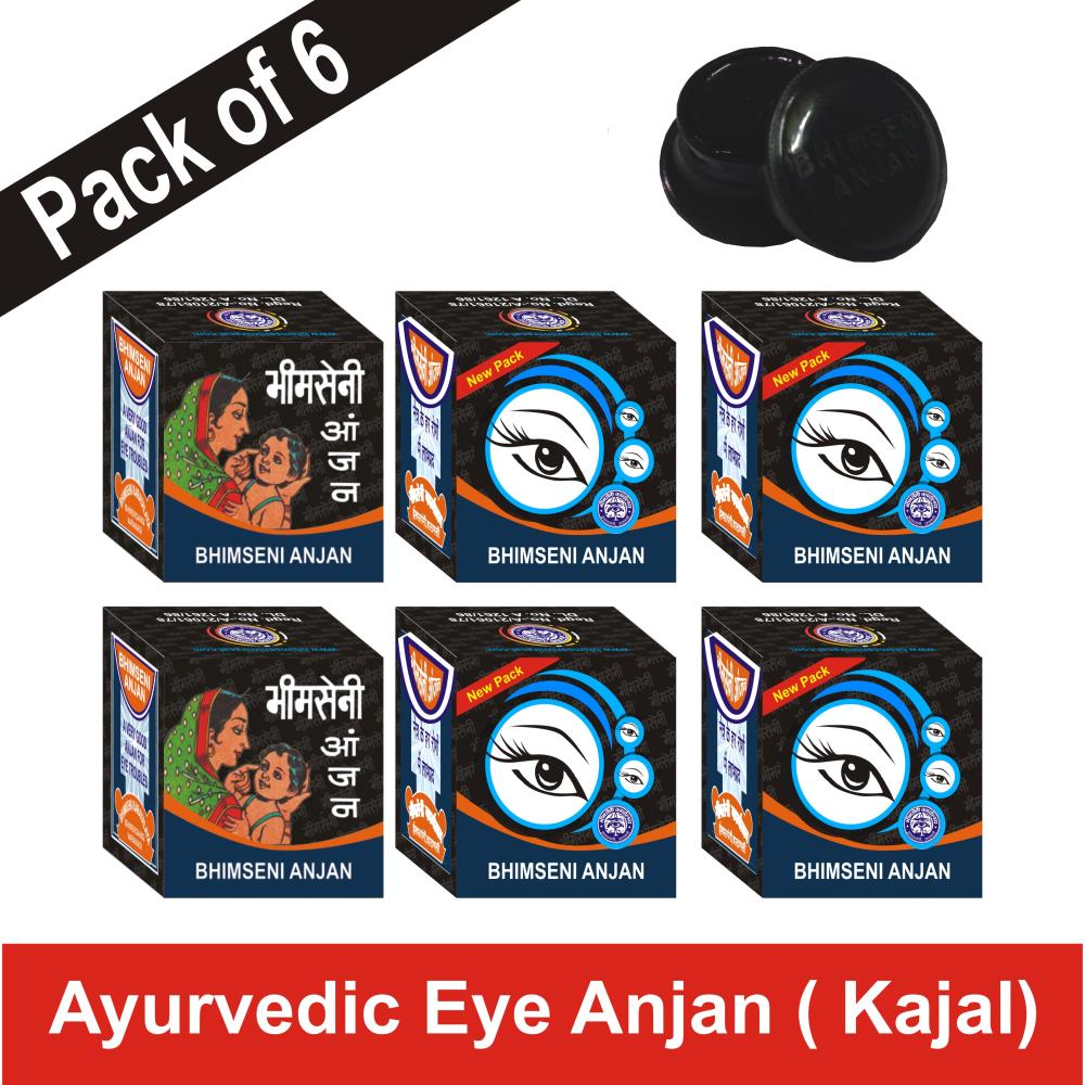 Bhimseni Anjan (1.1g, Pack of 6)