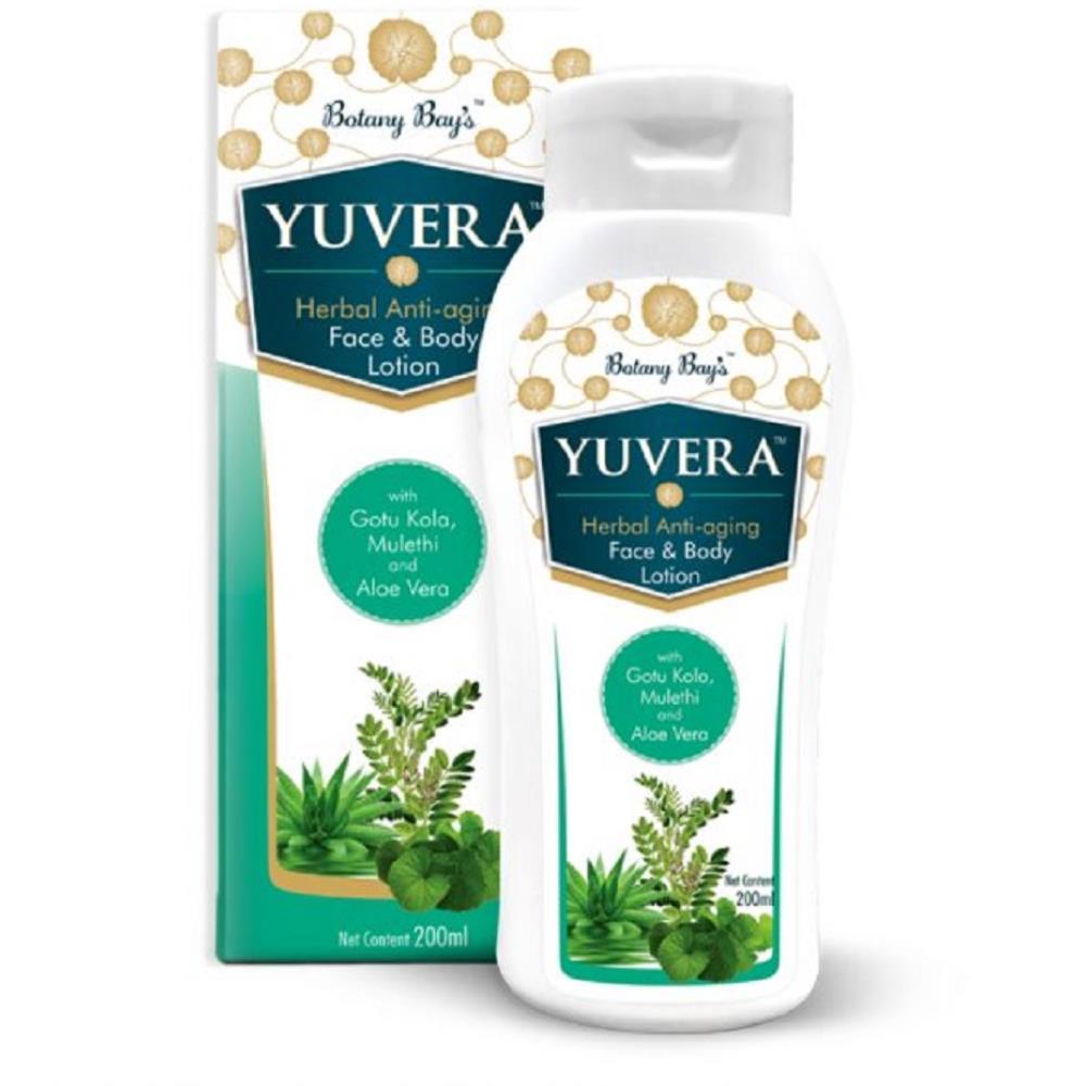 Botany Bays Yuvera Herbal Face & Body Lotion (200ml)