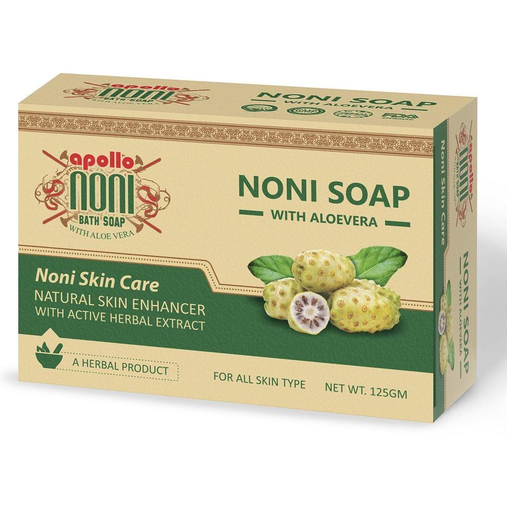 Apollo Noni Bath Soap with Aloevera (125g)