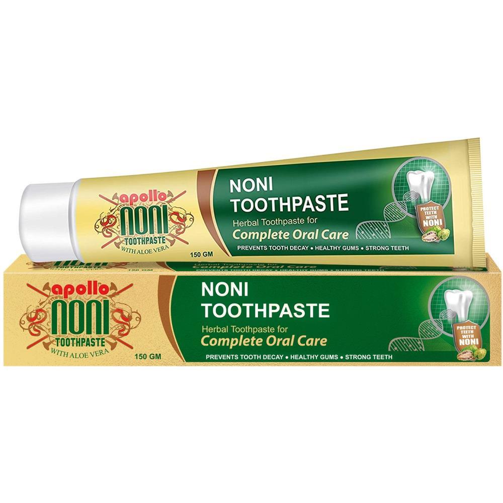 Apollo Noni Toothpaste with Aloevera (150g)